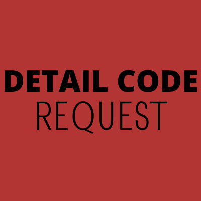 Detail Code Request Form