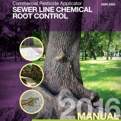 Sewer Line Chemical Root Control, Commercial Pesticide Applicator Manual