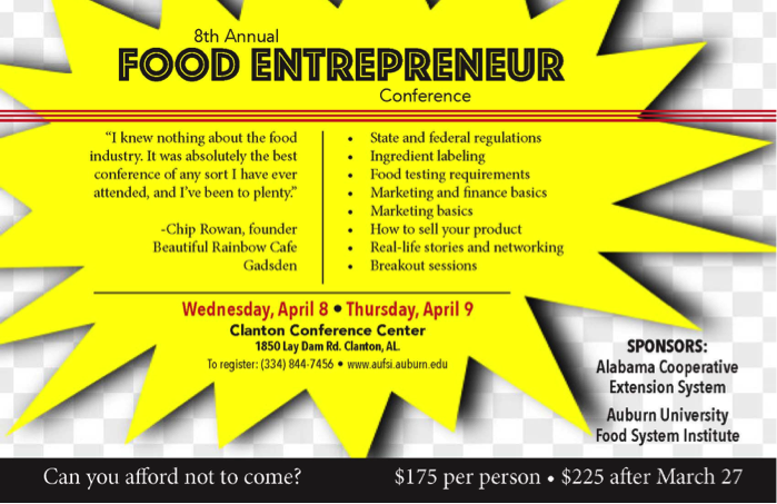 8th Annual Food Entrepreneur Conference
