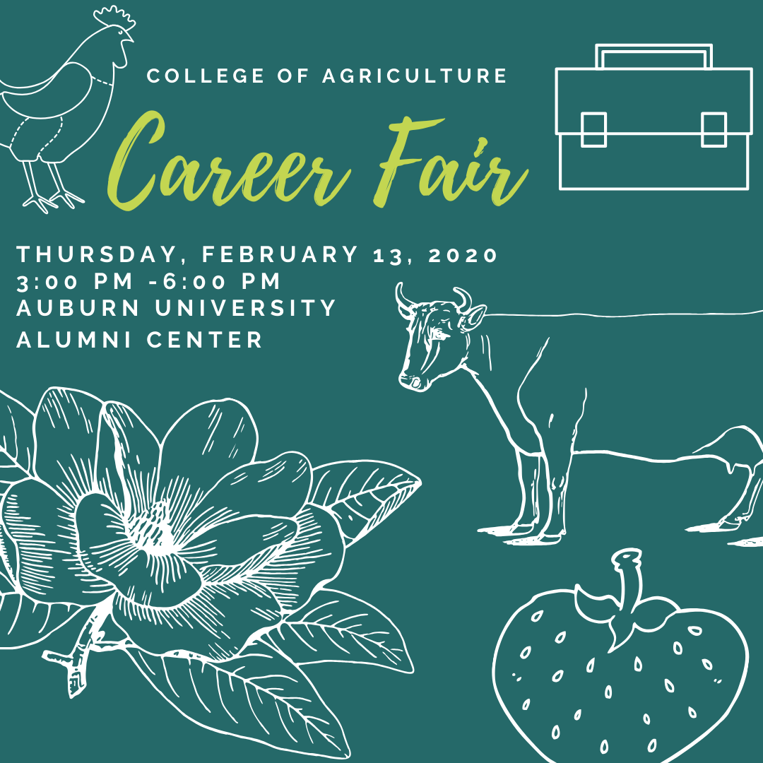 College of Agriculture Career Fair - Fall 2019