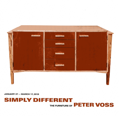 Simply Different - The Furniture of Peter Voss