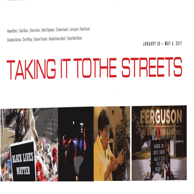 Taking it to the streets Exhibition Poster