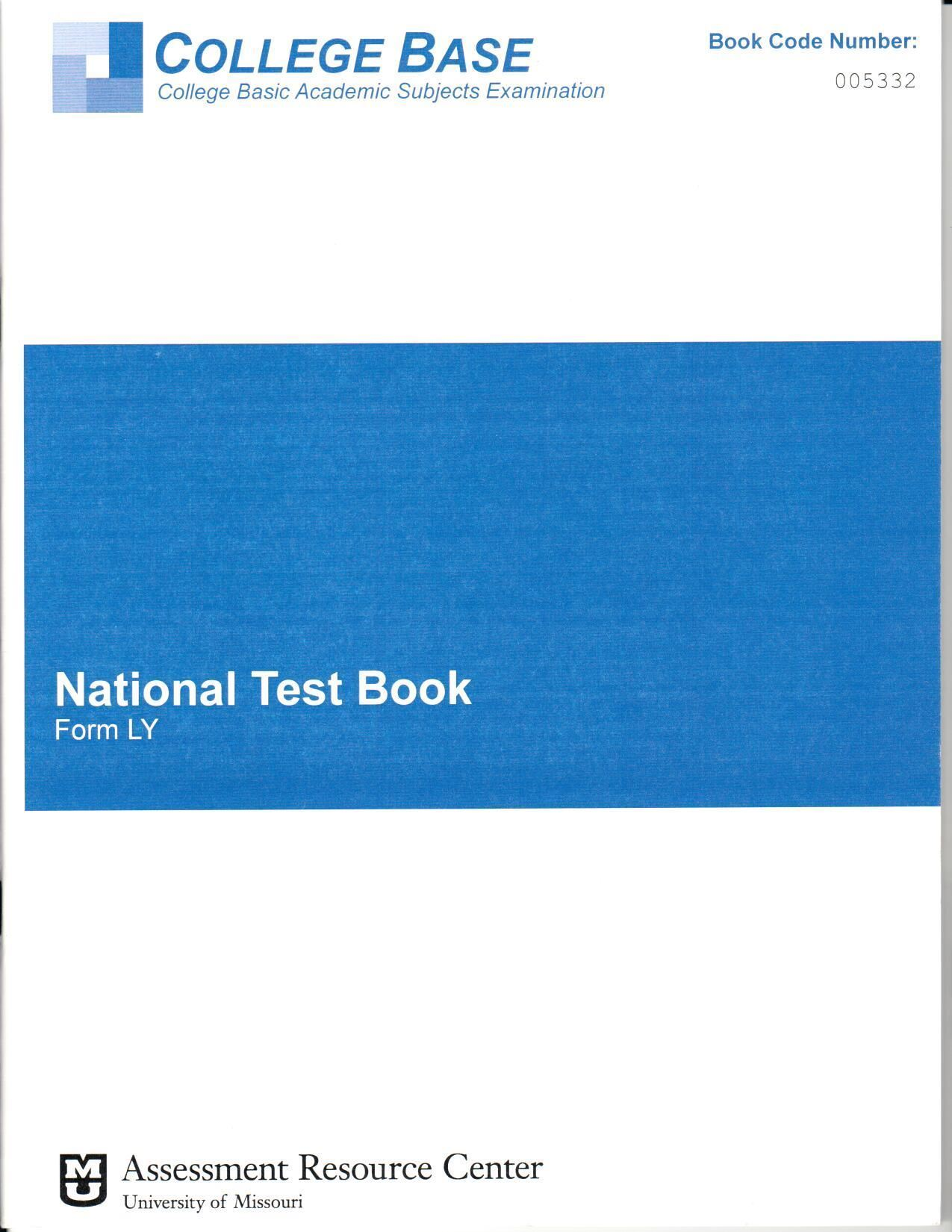 CBASE Form LY Test Booklets