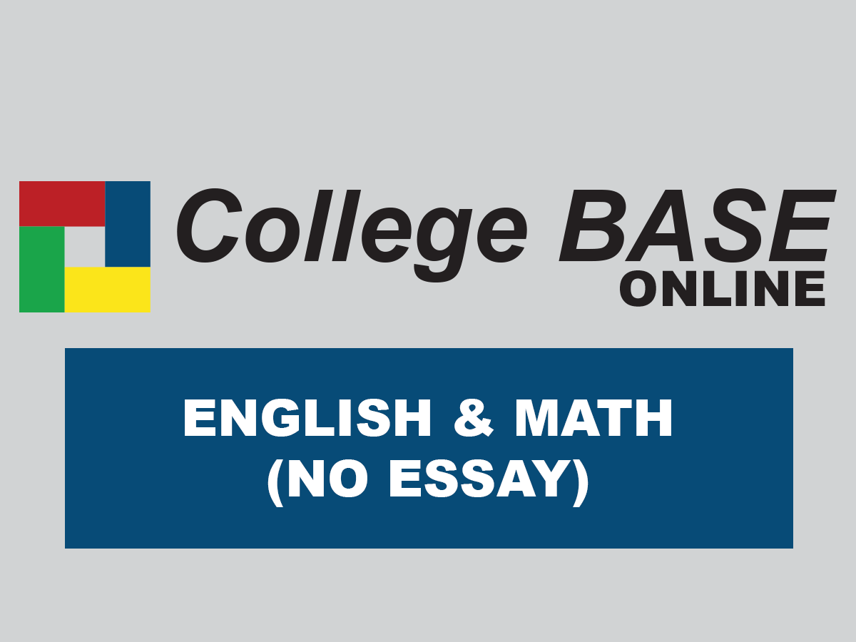 CBASE Online - English, Math (No Essay)