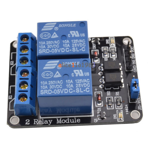 5V Two 2 Channel Relay Module
