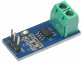 ACS712 5A Hall Effect Current Sensing Module