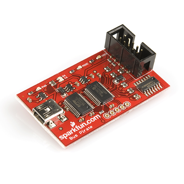 Bus Pirate v3.6 Universal Serial Interface