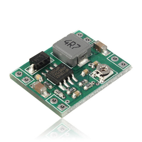 Mini 3A DC-DC Adjustable Step-down Converter (LM2596)