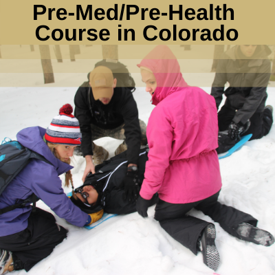 Pre-Med/Pre-Health Wilderness & Emergency Medicine Course in Colorado: August 11-20