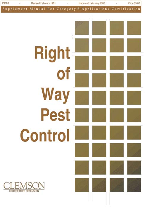 Category 6 Right-of-Way Pest Control