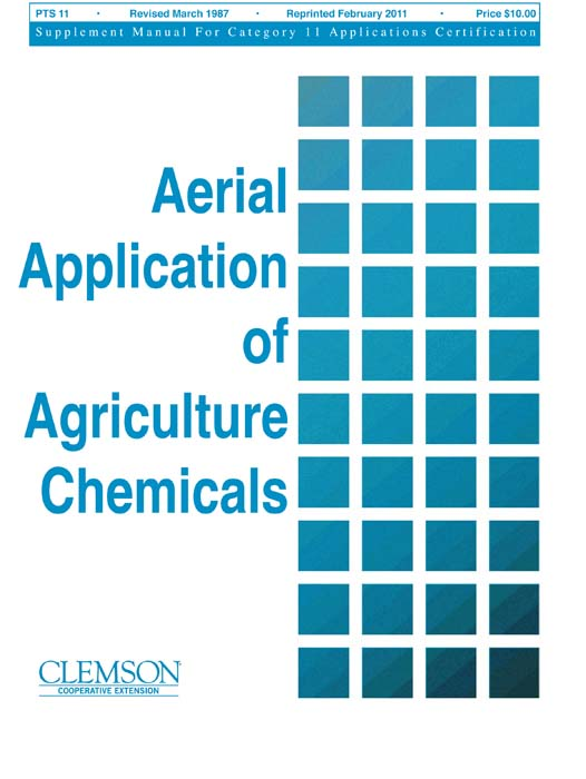 Category 11 Aerial Application of Agricultural Chemicals