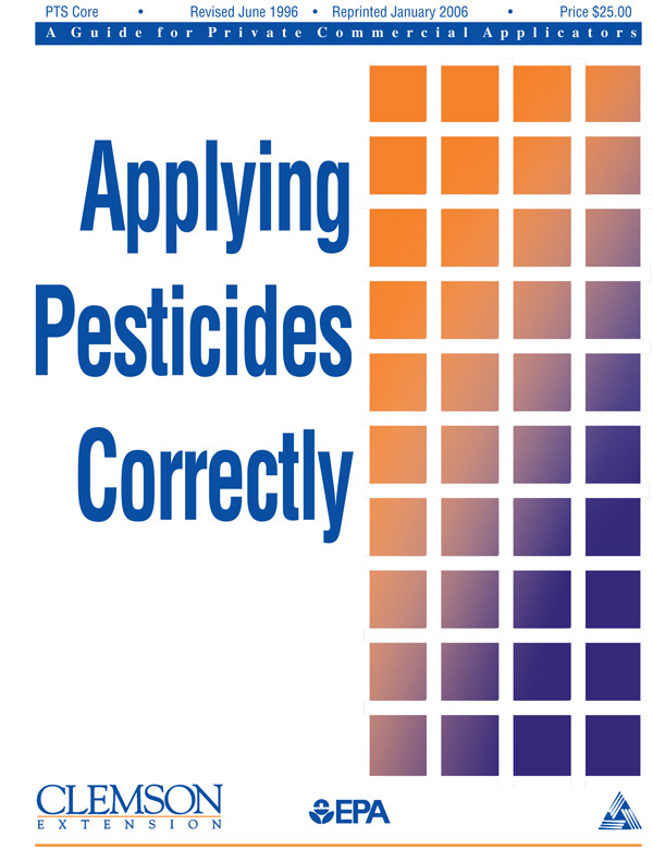 Category CORE: Applying Pesticides Correctly