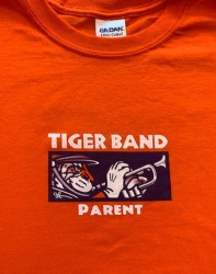 Tiger Band Parent T-Shirt