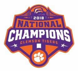 2018 National Championship Logo Decal