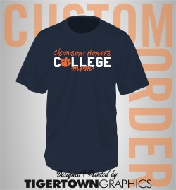 Clemson Honors College Mom t-shirt