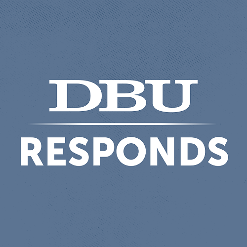 DBU Responds Fundraiser T-Shirt