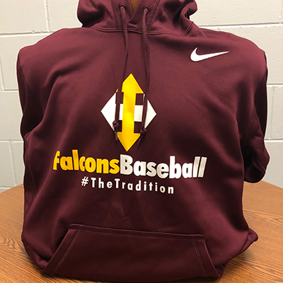 Nike Falcons Baseball The Tradition Hoodie