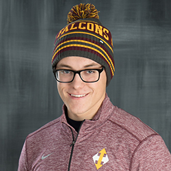 Indian Hills Falcons Knit Pom Beanie