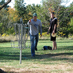 Support the Disc Golf Club