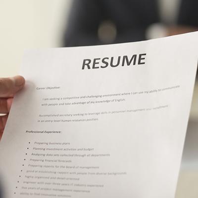 Resume Building Interview Skills