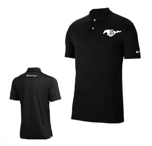 Be Set Apart - Polo Black