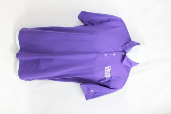 Nike Golf Dri Fit Shirt - Purple