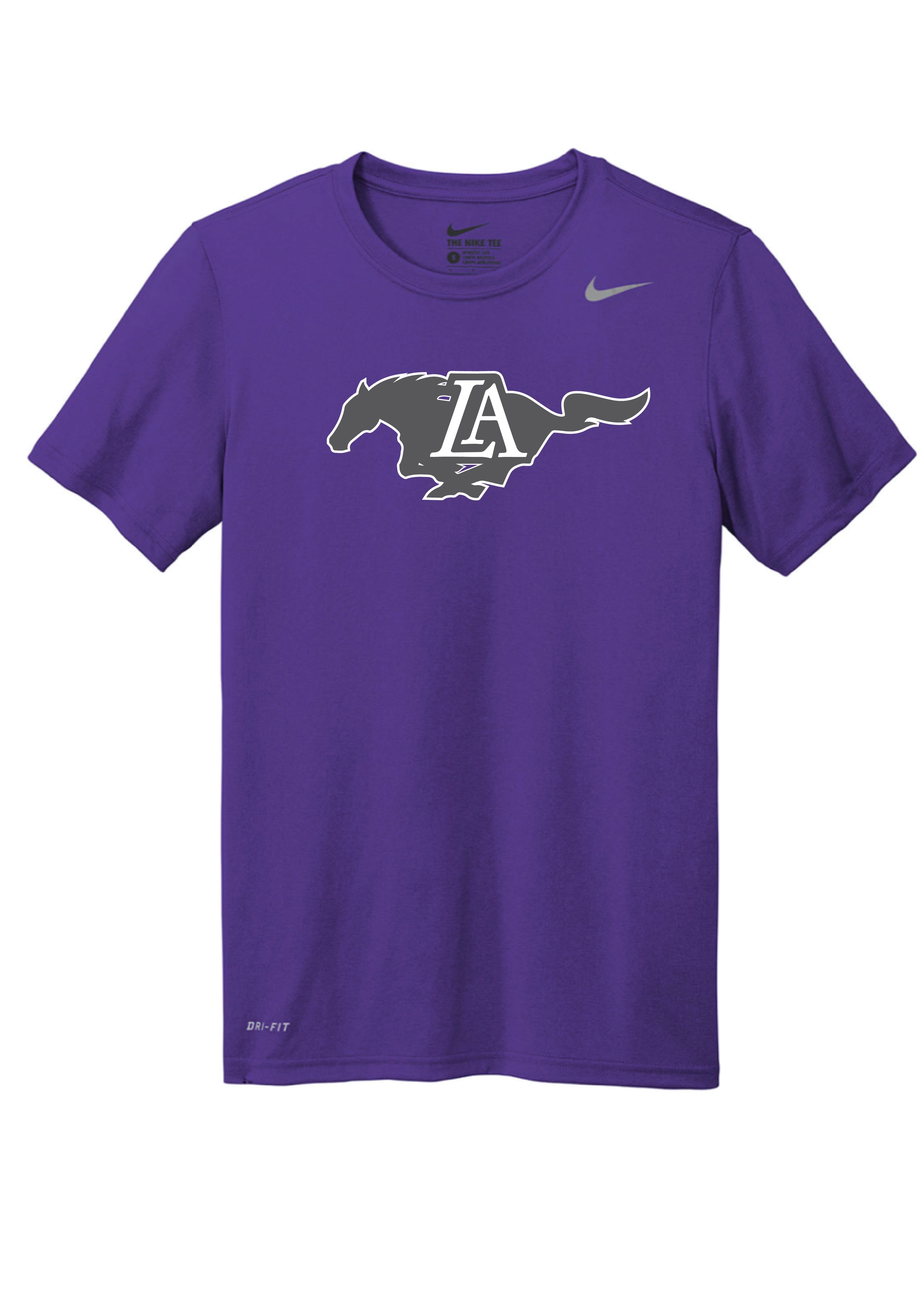 Nike Dri-Fit T-Shirt  Purple