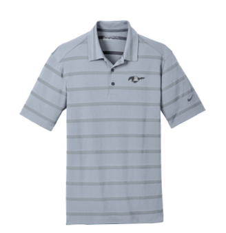 Nike Polo - Grey on Grey