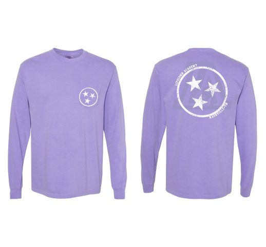 T - Shirt Long Sleeve w/ front Pocket - Comfort Colors