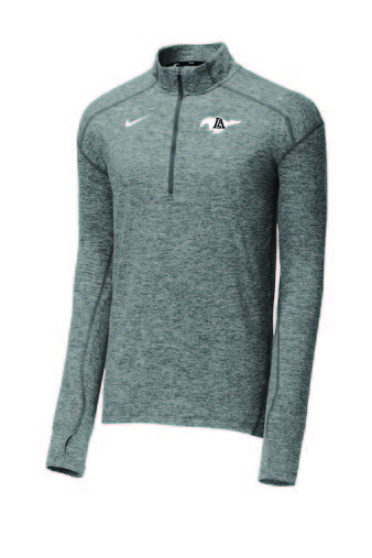 1/4 Zip Nike Performance Fit - Grey or Black
