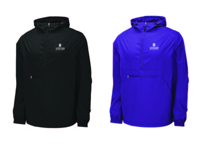 Packable Rain Jacket  Lightweight - Purple or Black