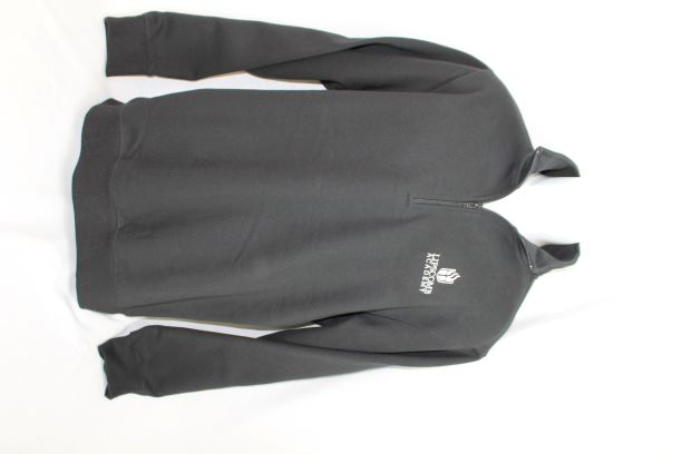 1/4 Zip Sweatshirt - Black