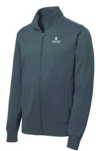 Youth Full Zip Performance Fleece  - Grey