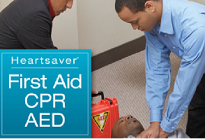 Heartsaver® CPR, First Aid & AED Certification
