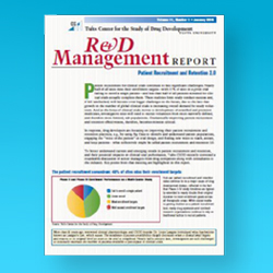 Tufts CSDD R&D Management Reports - Single Issue Electronic