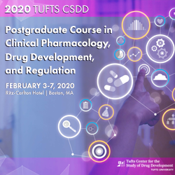 2020 Postgraduate Course in Clinical Pharmacology, Drug Development and Regulation - Custom Group Rate