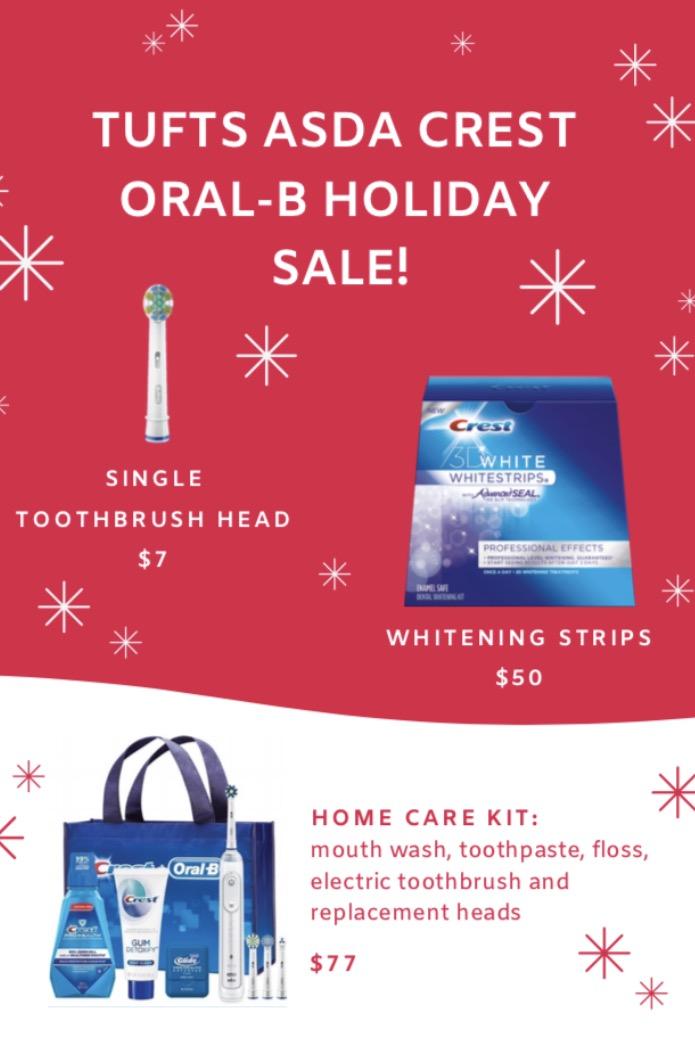 Tufts ASDA Crest Oral-B Clearance Sale