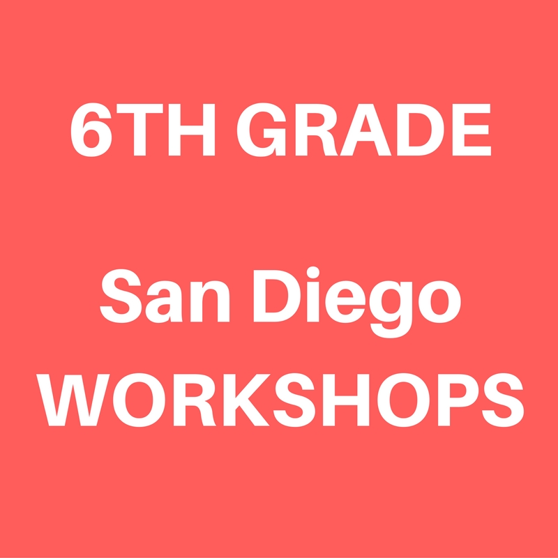 San Diego 6th Grade World History Workshops