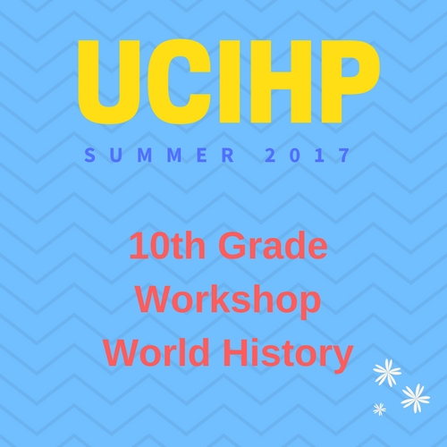 10th Grade Summer Workshop 2017