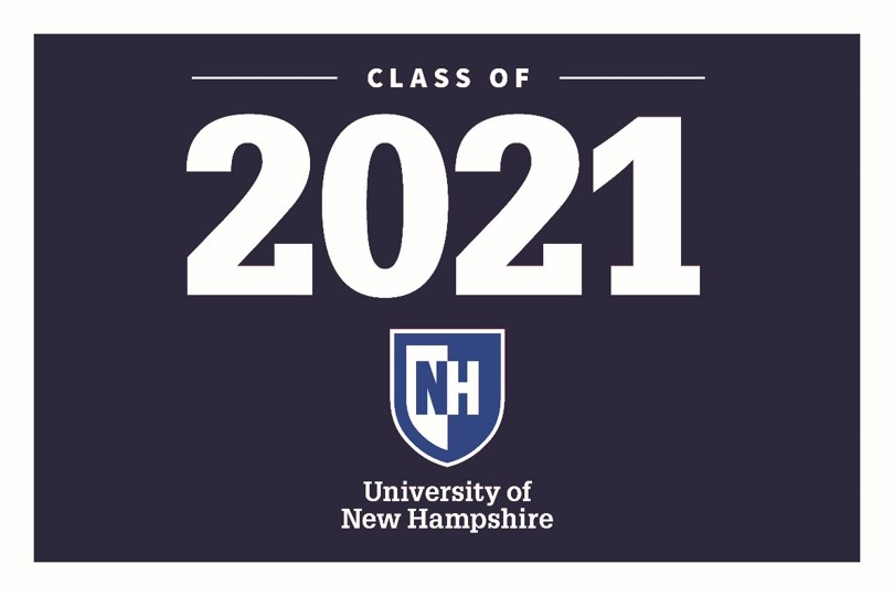 2021 UNH Class of 2021 Lawn Sign