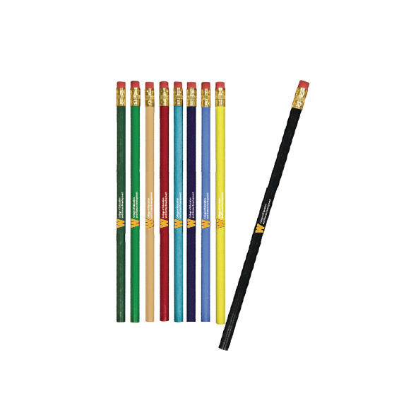 Pencils (Pack of 10) Assorted Colors