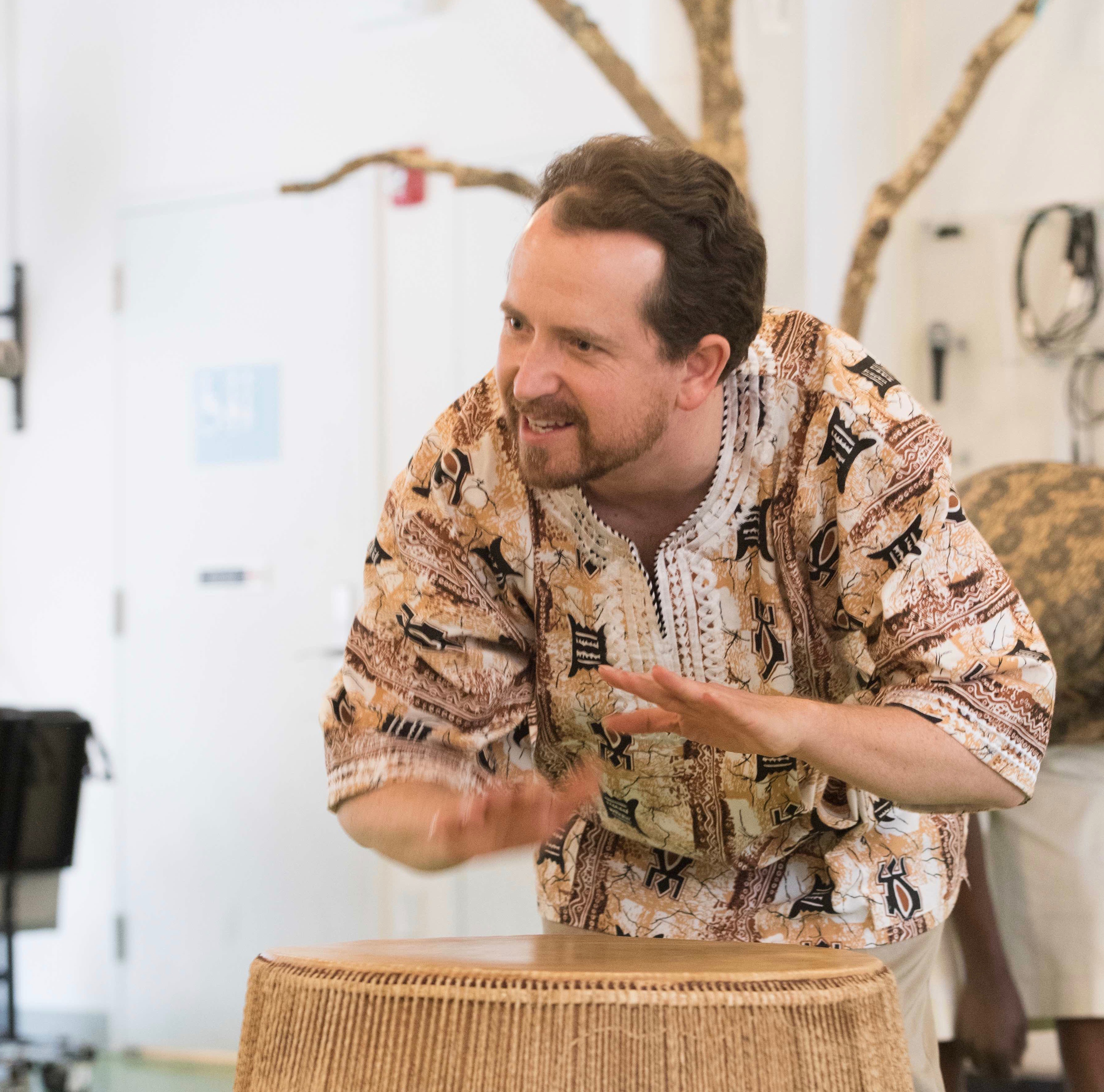 World Drumming Workshop with Mark Stone